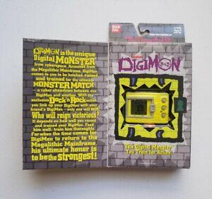 Digimon Tamagotchi - New & Sealed - Yellow - Original Version - NIP