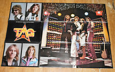 Ted Mulry Gang / TMG 1976 Oz Tour Program Poster With Rabbit / Mark Evans / ACDC