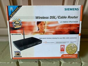 Siemens SpeedStream   Wireless ( DSL/cable  Router (SS2624) w/build in firewall
