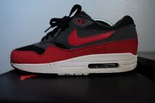 nike air max 1 essential Black/Red/Anthracite