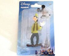 Disney Goofy Action Figure Dog Wearing Turtleneck and Fedora Hat with Scarf