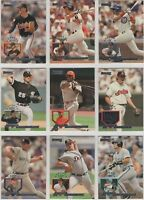 1995 Donruss Baseball Team Sets **Pick Your Team**