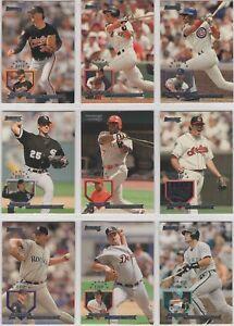 1995 Donruss Baseball Team Sets **Pick Your Team**