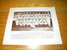 St. Louis Browns Baseball Magazine 1944 AL Champs Team Premium Photo Insert