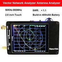 Nanovna 50KHz-900MHz Vector Network Analyzer VNA HF UHF UV VHF Antenna Analyzer