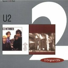 U2 - October/the Unforgettable Fire - U2 CD 70VG The Cheap Fast Free Post The