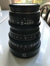 Meike 25mm m4/3 mount cine lens