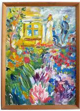 Primavera en el Jardín, Expresionista, Medio 20. Jh