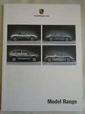 Porsche range brochure Jul 2003