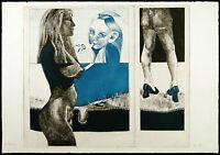 """Kritischer Realismus. """"Ok"""", 1970. Rad. Hans-Jürgen DIEHL (*1940 D), handsigniert"""