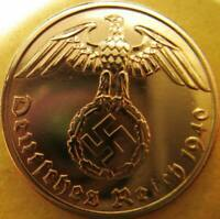 Nazi German 1 Reichspfennig 1940-Year Battle of Britain WWII - Coin Third Reich