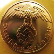 Nazi German 1 Reichspfennig 1940-Year Battle of Britain WWII - Coin Third Reich