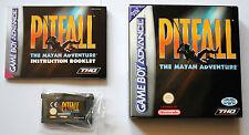 Jeu PITFALL THE MAYAN ADVENTURE Complet sur Nintendo Game Boy Advance GBA TBE FR