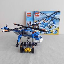 Lego 4995 Cargo Copter 3 in 1 Set with Power Winch. 100% Complete