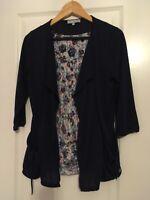 Per Una Woman's Cardigan +Top Set -Size 12-Multi Colour -RRP£45 NEW