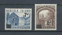 18298) Norfolk Island MNH New 1958, Definitives Overprinted 2v