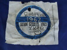 BOLLO 1962 ACI TASSA CIRCOLAZIONE MOTOCICLI LEGGERI VESPA SCOOTER MOTO EPOCA