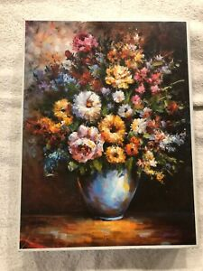 """Flowers In Vase 1000 Piece Jigsaw Puzzle (19.3"""" X 27"""")"""