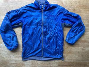 MAMMUT MENS WINDSTOPPER BLUE JACKET size M Climbing Hiking Walking