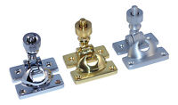 Carlisle Brass AQ43 Brighton Sash Window Fastener Twist Arm Catch Latch Lock