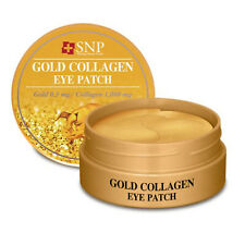 SNP Gold Collagen Eye Patch 60pcs Tightening Firming Cont Real 24K Gold K-Beauty