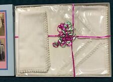 ADO Polyester Dinner Napkin - Set of 6 - Polyester. Winter White.  22 x 22.