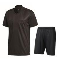 Adidas Fußball Referee 18 Schiedsrichter Trikotset Trikot Shorts Herren schwarz