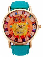 Owl Pattern,Baomabao Leather Band Analog Quartz Vogue Watch For Women Ladies