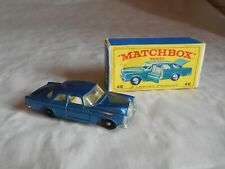 Matchbox Lesney No46 Mercedes benz 300 SE Coupe boxed
