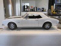1/18 EXACT DETAIL 1967 CAMARO Z/28 WHITE/BLACK *NEW* 1 OF 750