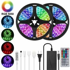 Led Strip 12v Ribbon Led Light Strip Rgb Tape Flexible 5m 10m Diode Tape Remote