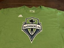 Seattle Sounders MLS Soccer adidas XL Green T Shirt