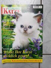 Geliebte Katze Zeitschrift Ausgabe Nr.8 August 2006 gebraucht