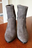 Saks Fifth Avenue Suede Booties Size 8.5
