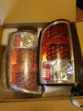 02-05 DODGE RAM TRUCK LED TAIL LIGHTS 1500 2500 3500 RED STYLE