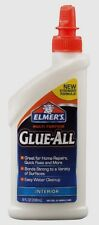 8 oz Elmers GLUE ALL Multi Purpose Adhesive Interior Clear High Strength E3820