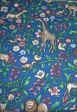 """Vera Bradley Animal Kingdom Fabric 1 Yard Long by 56""""Wide"""