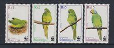 Mauritius - 2013,Endangered Espèces,Perruche,Oiseau Ensemble - MNH - Sg 1089/92