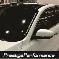 HOT JDM Prestige Performance Hellaflush Windshield Vinyl Car White Sticker Decal