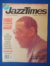 JAZZ TIMES MAGAZINE SEPTEMBER 1993 DUKE ELLINGTON SMITHSONIAN EXHIBIT