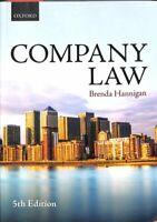 Company Law by Brenda Hannigan 9780198787709 | Brand New | Free UK Shipping