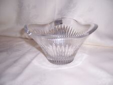 LOVELY MIKASA CRYSTAL UNDULATING BOWL NEW IN BOX