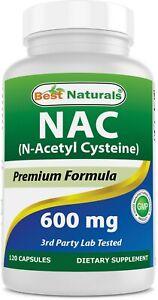 Best Naturals NAC 600 mg 120 Capsules