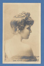 SCHLOSS  FRENCH  POSTCARD  -  ACTRESS  -  MAYO  METHOT  -  C 1901-10