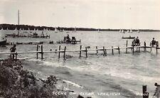 Real Photo Postcard Scene on Clear Lake, Iowa~124280