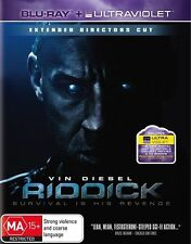 Riddick Director's Cut DVD & Blu-ray Movies