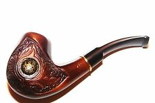 SMOKING PIPE LANCELOT 112 (PEAR) Acrylic mouthpiece for the filter 9mm