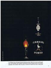 PUBLICITE ADVERTISING 044 1973 Porto FERREIRA
