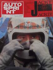 Autosprint 31 1969 Jacky ICKX batte Jackie Stewart   [Sc.48]