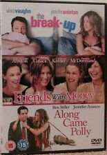 Friends With Money/The Break-Up/Along Came Polly (DVD, 2007, 3-Disc Set)